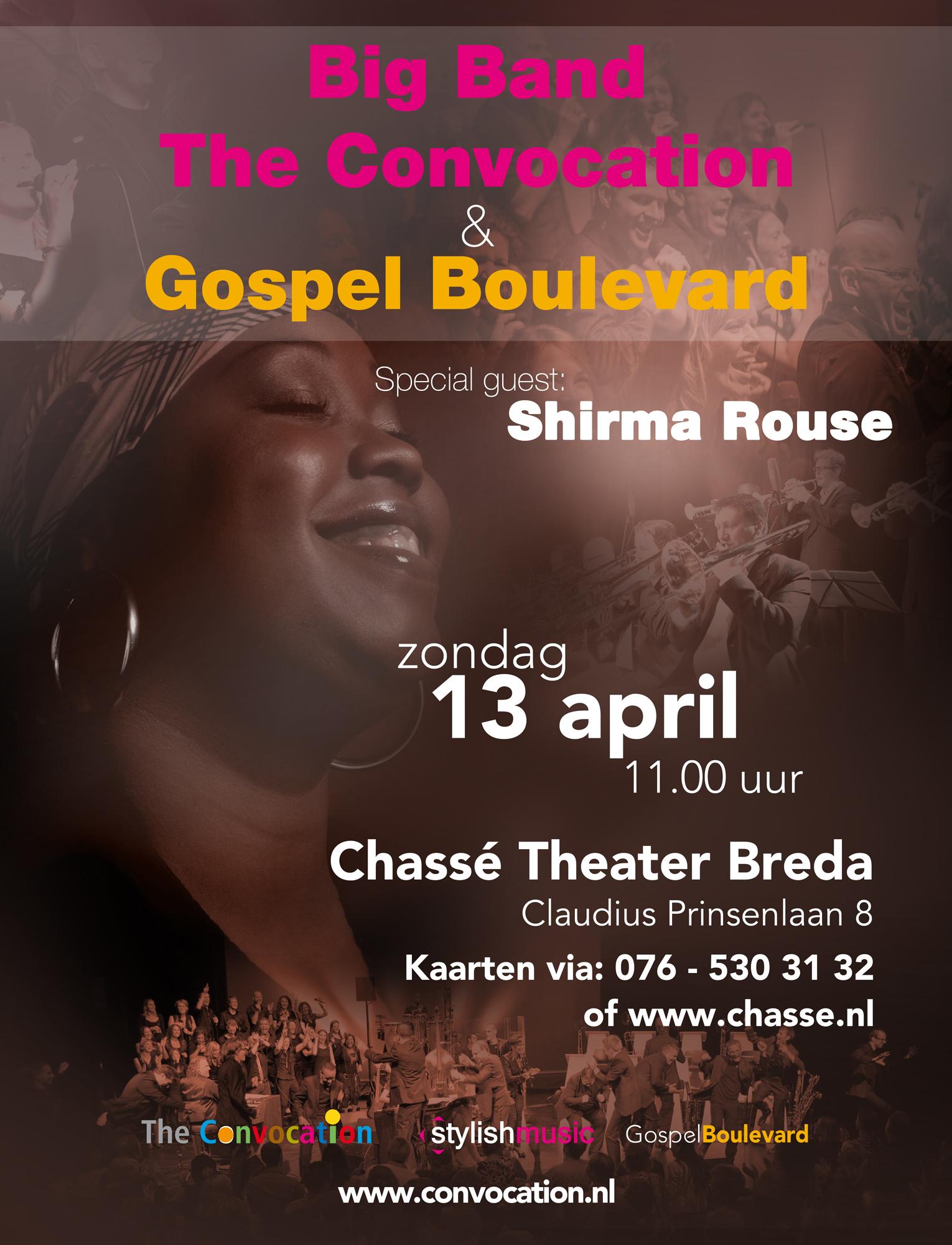 gospel boulevard-shirma rouse