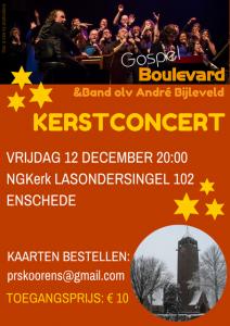 Poster GBV Kerstconcert
